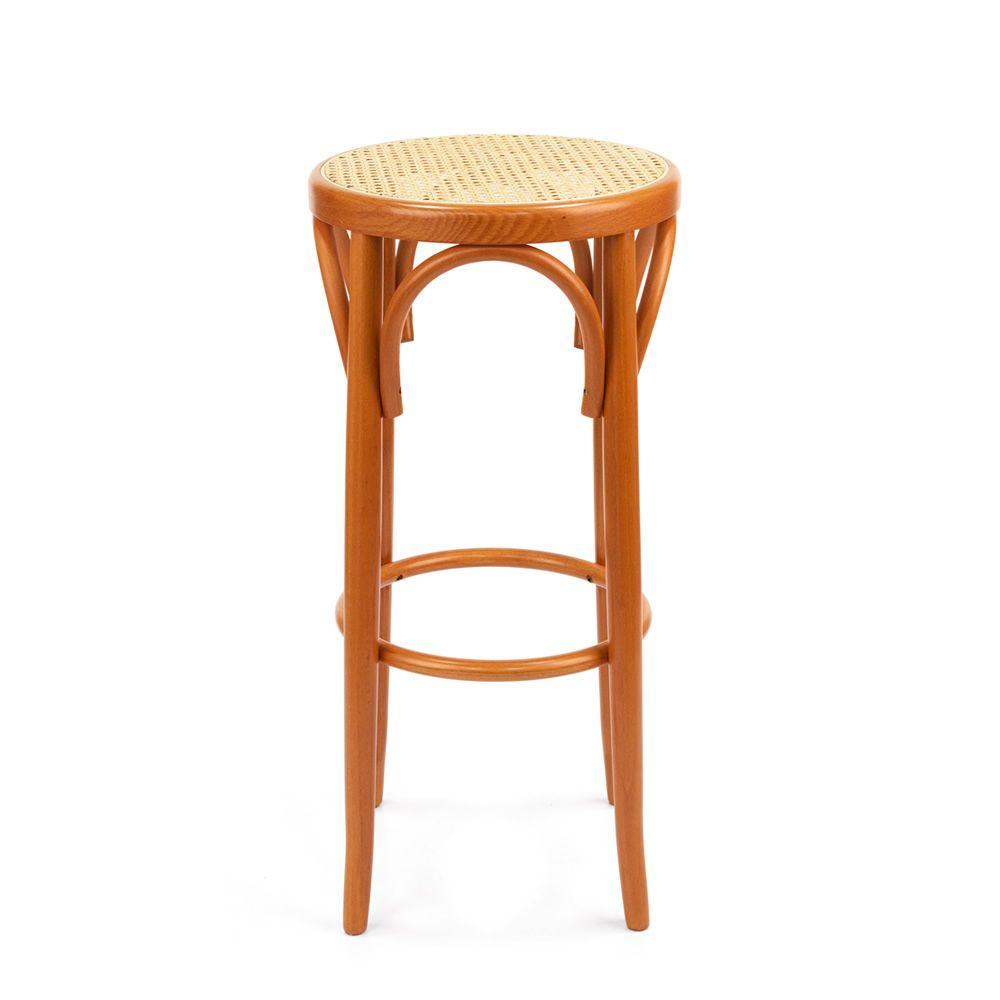 Se72h taburete vien s de madera asiento en paja en - Asientos para taburetes ...