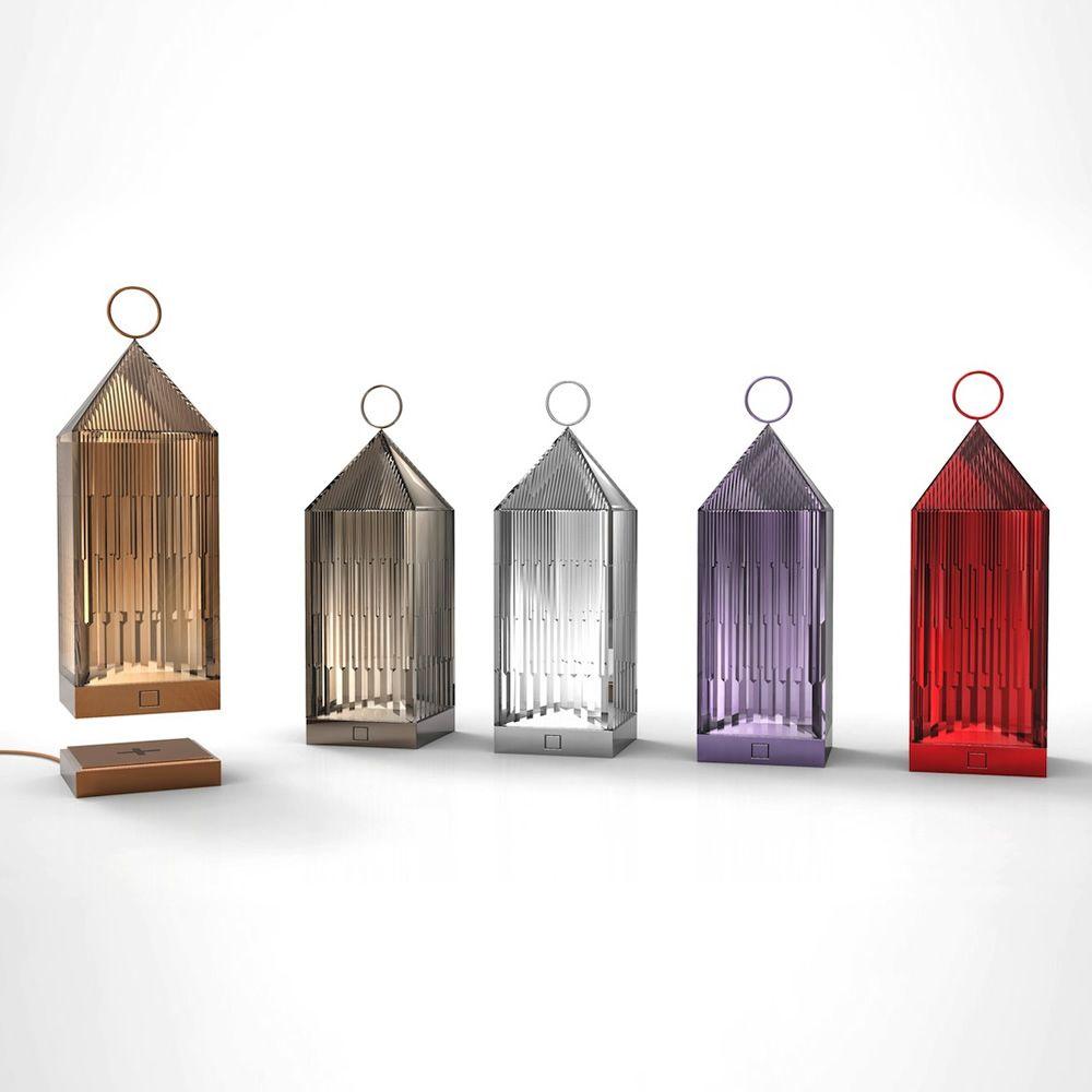 Kartell Tavoli Da Esterno.Lantern Lampada Da Tavolo Kartell In Tecnopolimero Led Anche
