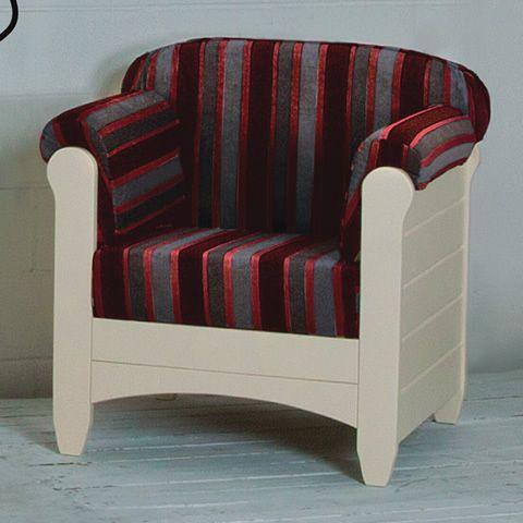 lar8 poltrona fauteuil rustique en bois avec coussins. Black Bedroom Furniture Sets. Home Design Ideas