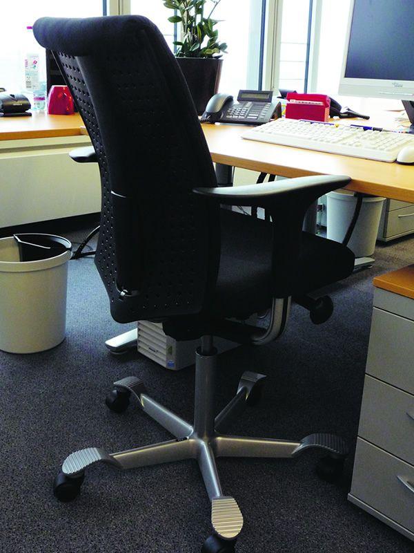 H05 silla ergon mica de oficina h g parcialmente for Sillas ergonomicas para pc