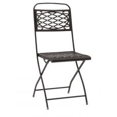Isa 2533 - Folding steel chair, for garden