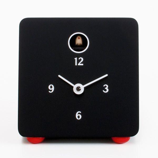 Fido orologio a cuc da tavolo in legno verniciato - Orologi a cucu design ...
