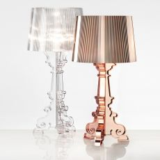 Bourgie - Lámpara de mesa Kartell en policarbonato y ABS, disponible en varios colores
