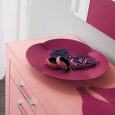 Ma2 porta oggetti in cuoio sediarreda for Oggetti in cuoio