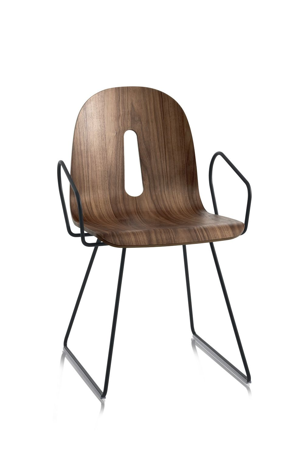 Gotham woody designer stuhl chairs more aus metall mit for Designer stuhl metall