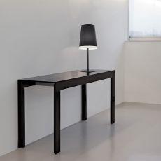 Tables et tables basses sign s pedrali sediarreda - Console transformable en table a manger ...