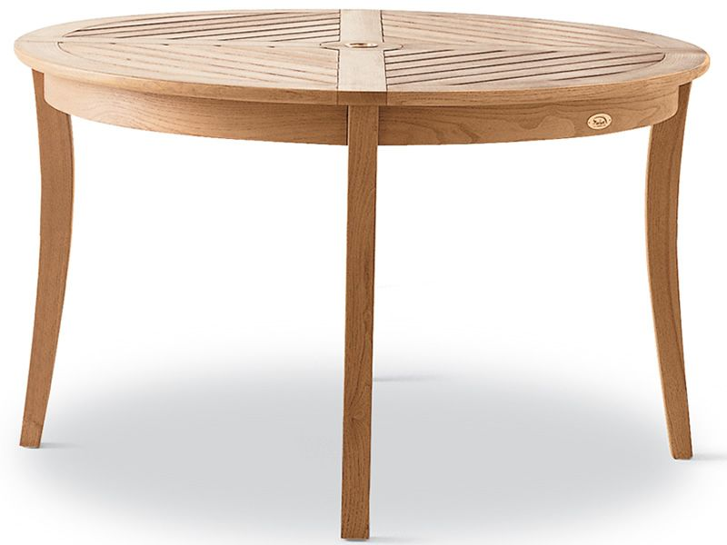 Dream - Table de jardin en bois de robinier, diamètre 125 cm ...