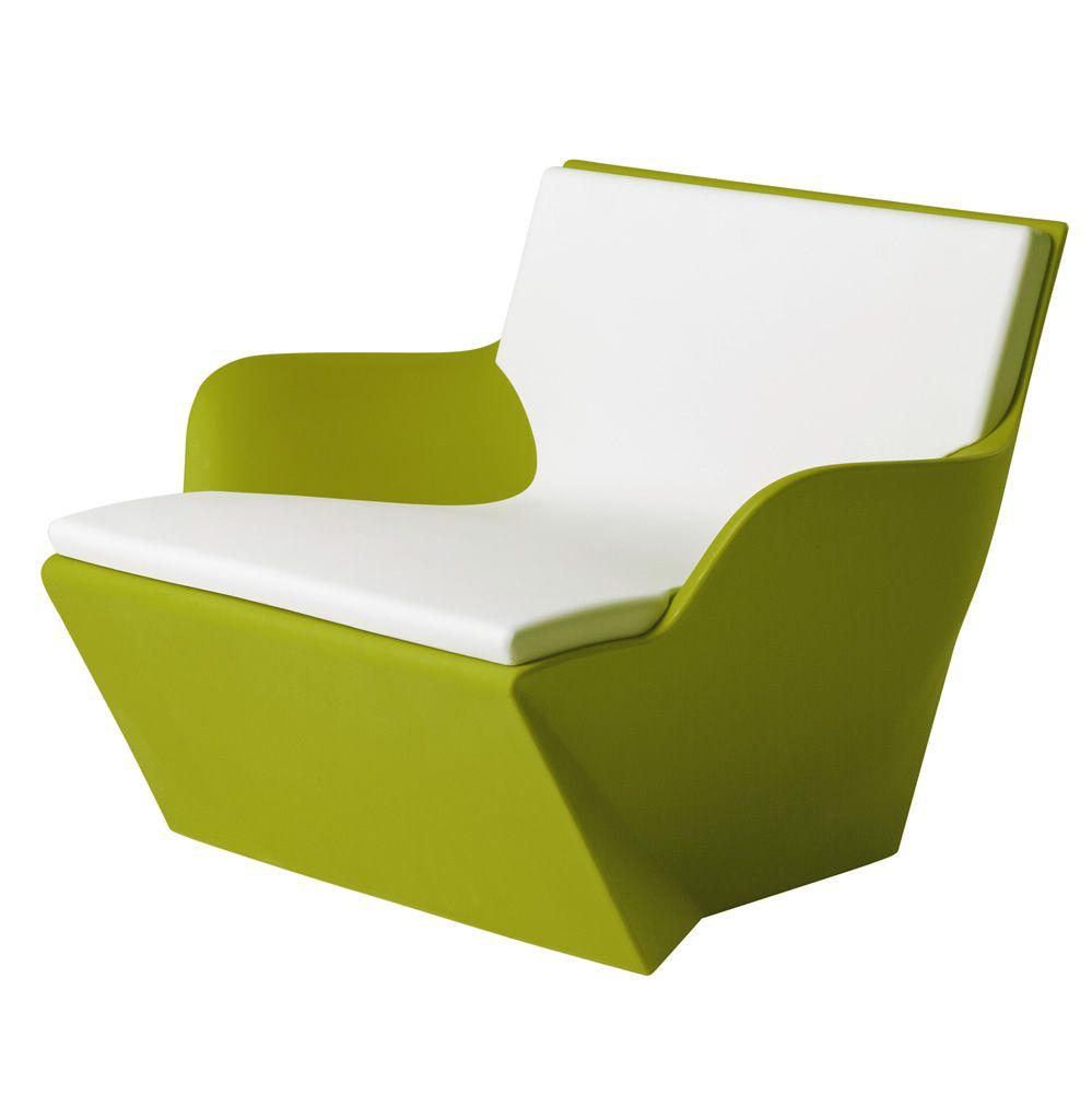 Kami San Slide Armchair In Polyethylene Also For The