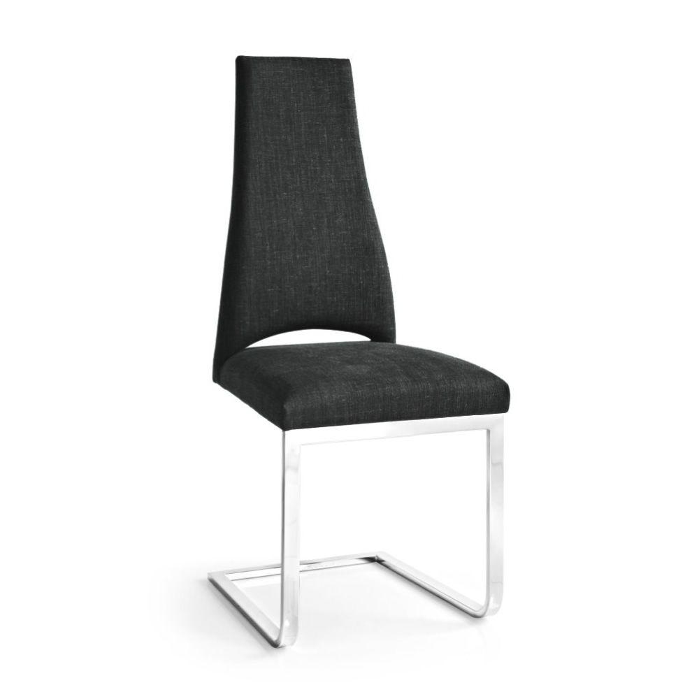 Cs1380 juliet b sedia calligaris in metallo con rivestimento in tessuto nero sediarreda - Sedia juliet calligaris prezzo ...