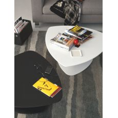 CB5061-C Islands - Connubia - Calligaris metal coffee table, laminated top, differet colours available