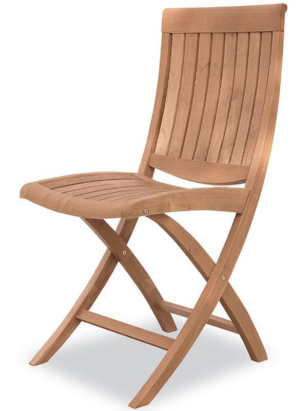 Harmony f silla plegable para jard n de madera robinia for Sillas de madera para jardin