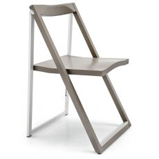 CB207 Skip - Connubia - Calligaris folding chair, in wood and metal, several colours available