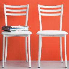 CB1320 Ace - Metallstuhl für Bars und Restaurants, erhältlich mit verschiedenen Sitzflächen