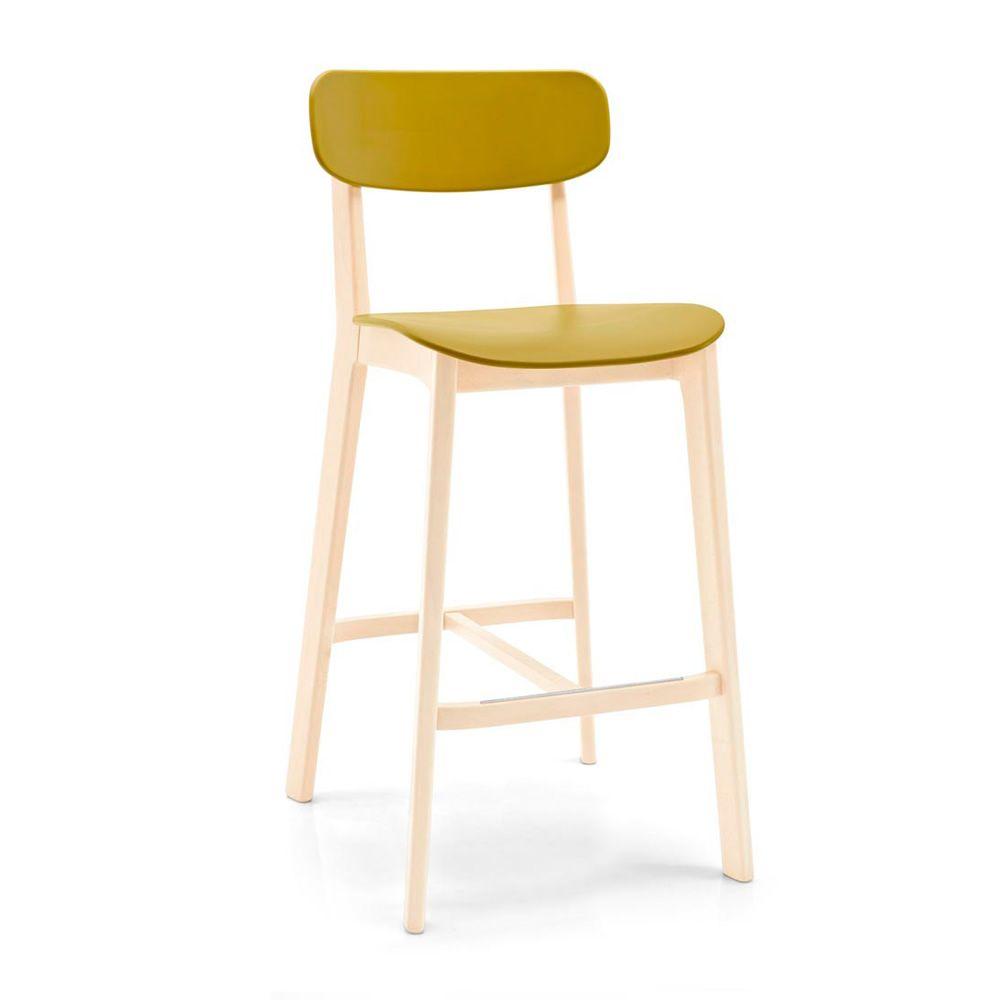 Pour bars et restaurants tabouret pour bar en bois avec assise - Mousse pour assise canape ...