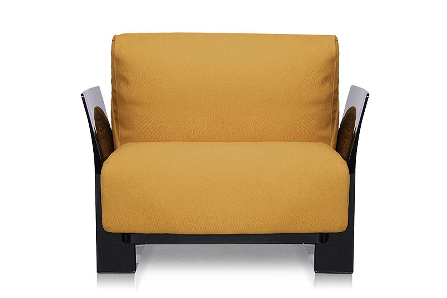 Pop: Design armchair Kartell, with polycarbonate frame, with ...