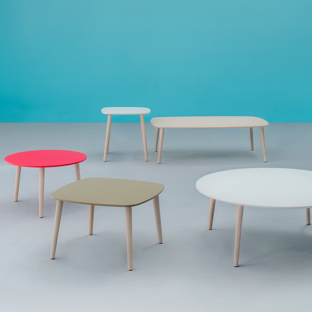 Table basse ronde ou carree for Table basse ronde plateau