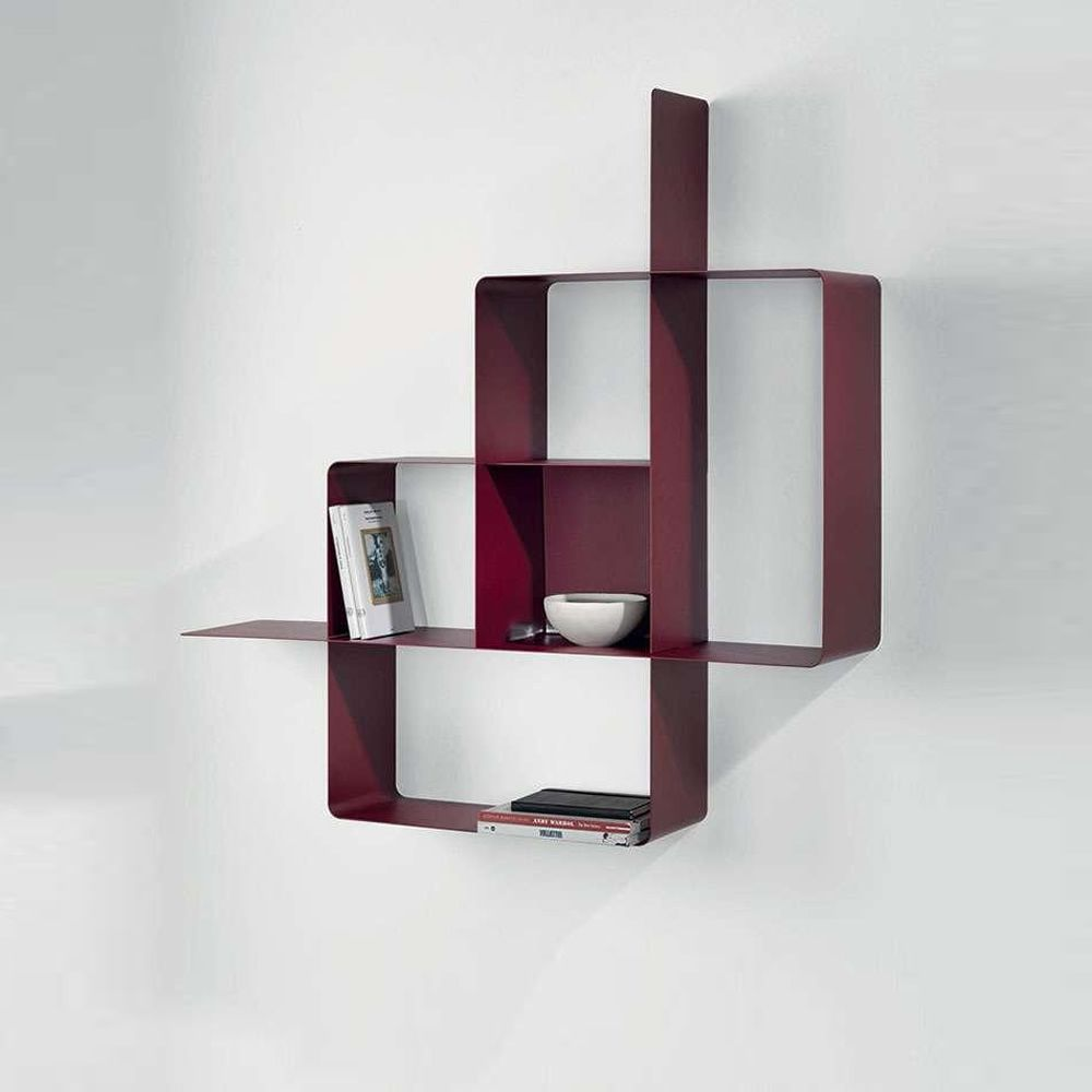 Mondrian Biblioth Que Modulaire En M Tal Peint Sediarreda # Bibliotheque Modulaire