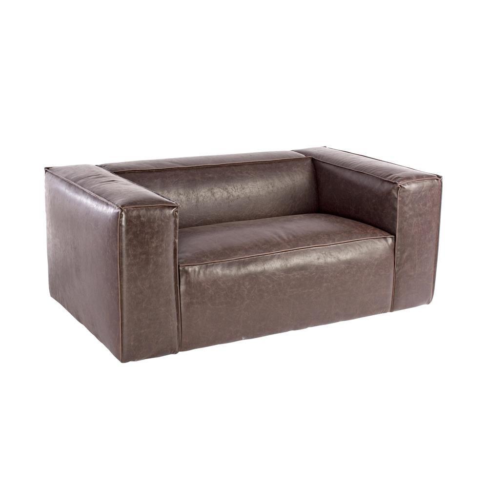 kunstleder couch braun awesome kunstleder couch schwarz with kunstleder couch schwarz design. Black Bedroom Furniture Sets. Home Design Ideas