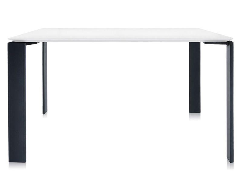 Four design tisch kartell aus stahl und laminat for Design tisch stahl