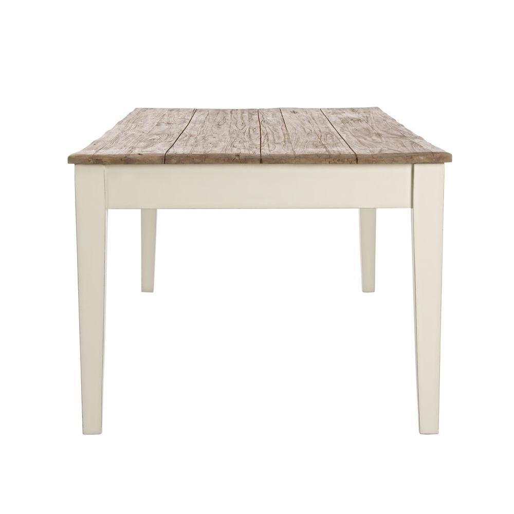 Johannesburg t tavolo shabby chic in legno indonesiano e for Tavolo e sedie shabby chic
