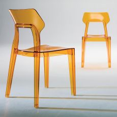 Aria - Bontempi Casa design chair, in polycarbonate available in different colours