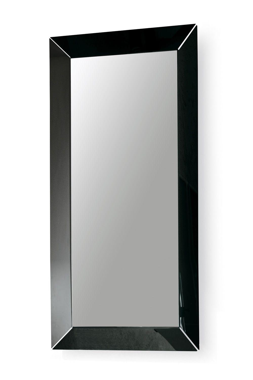 Frame r specchio colico design rettangolare 180x90 cm in metacrilato sediarreda - Specchio cornice nera ...
