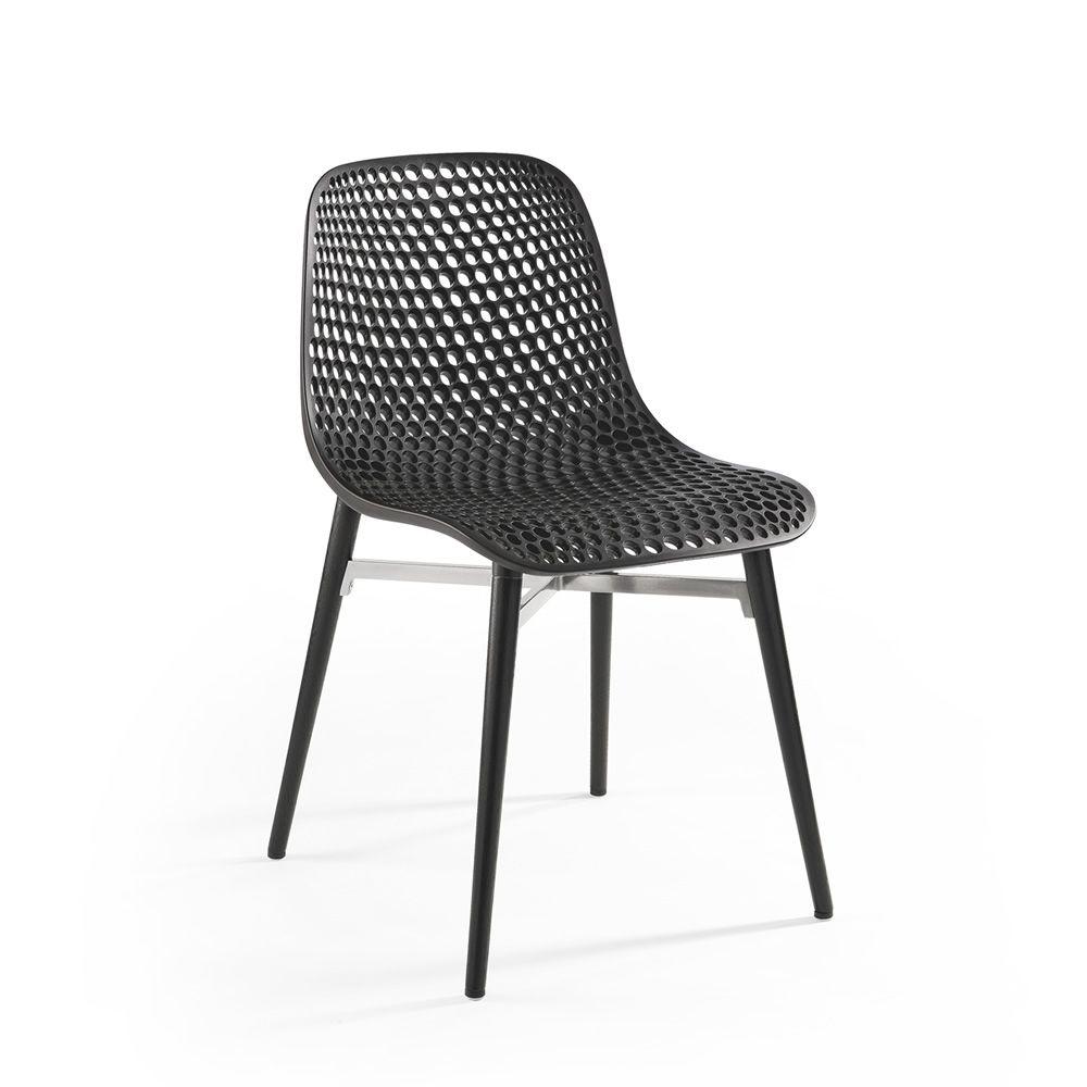 Next chaise infiniti en bois assise en technopolym re - Chaise bureau reaction infiniti design ...