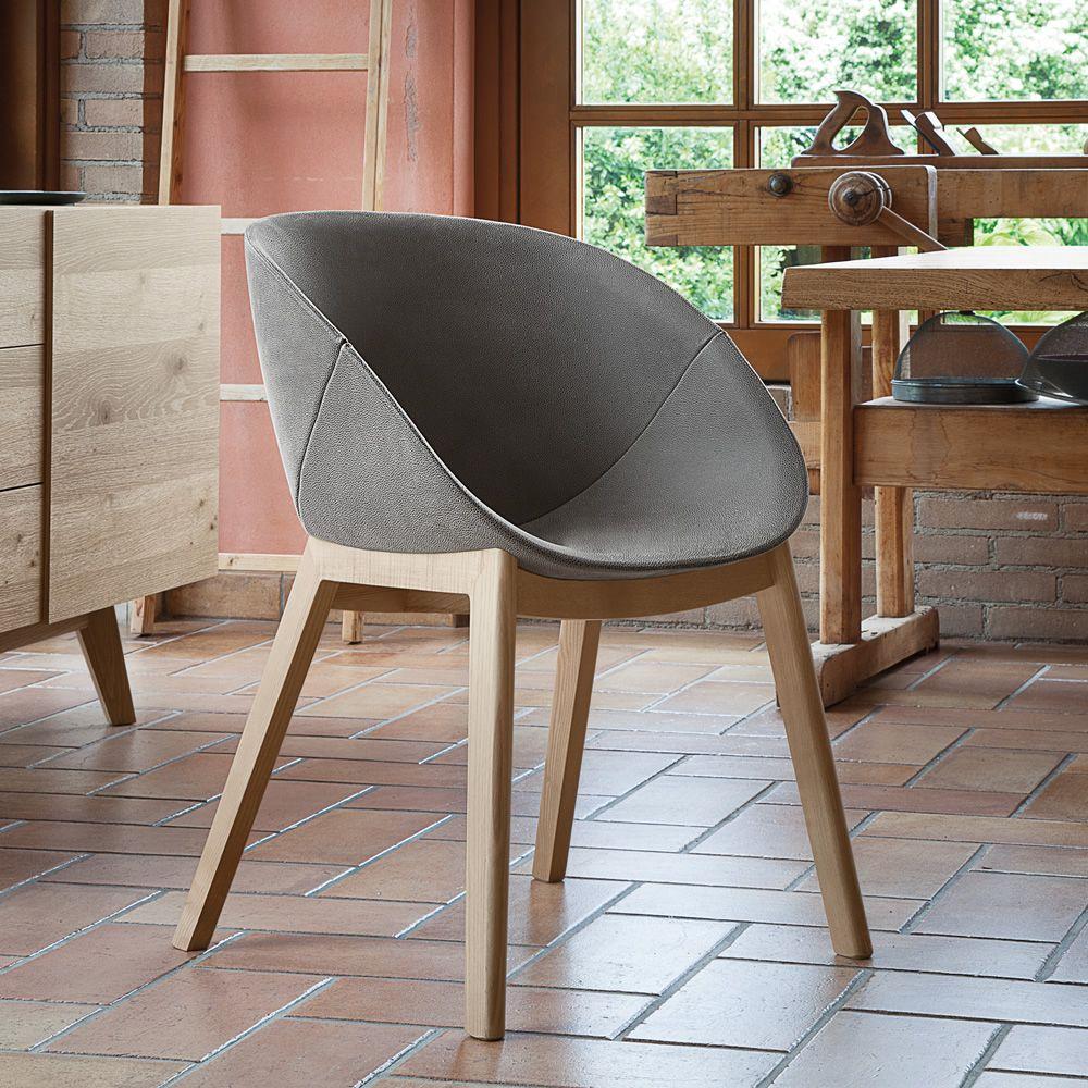 Como tapizar sillas de madera cheap silla de madera con - Como tapizar sillas de madera ...