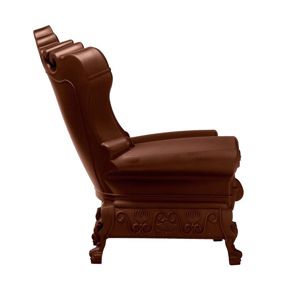 queen of love promo fauteuil de design en polyethylene marron chocolate aussi pour jardin 40 Élégant Promo Fauteuil Ksh4