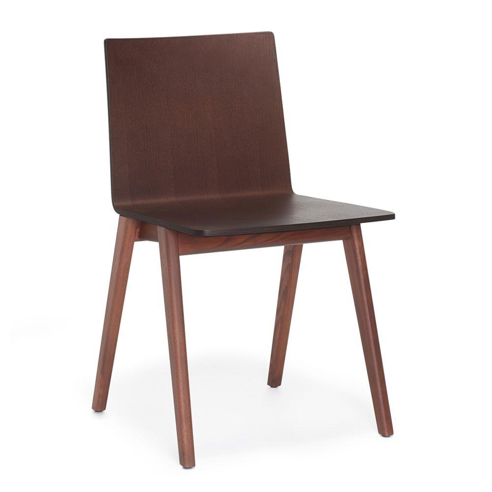Osaka 2810 chaise design pedrali en bois de fr ne for Chaise bois design