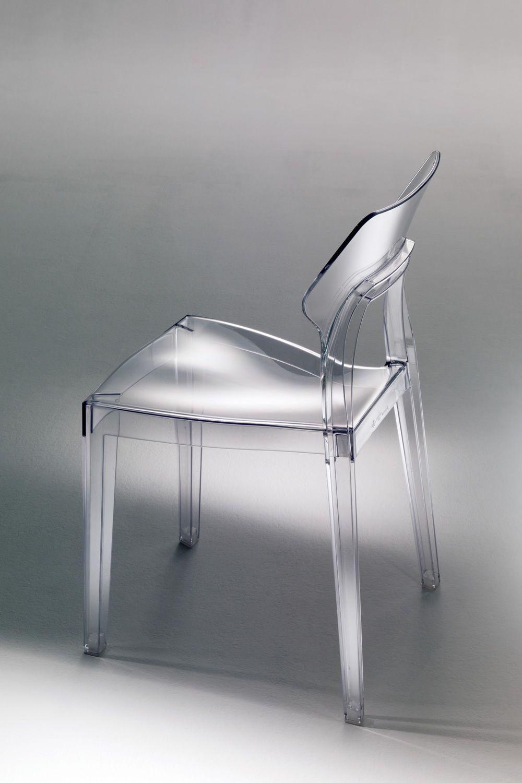 Aria sedia di design bontempi casa in policarbonato anche per esterno sediarreda - Sedia di design ...