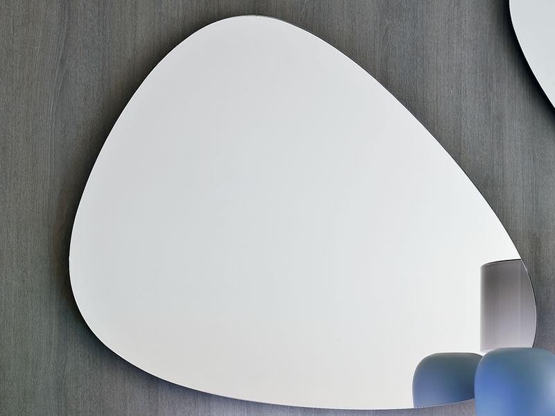 Stone 7529 tonin casa shaped mirror different sizes for Different sized mirrors