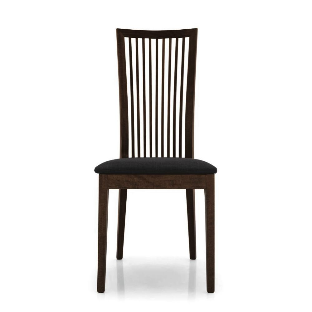 Sehr CS1060 Philadelphia: Stuhl Calligaris aus Holz in Wengè, Sitz aus  CE53