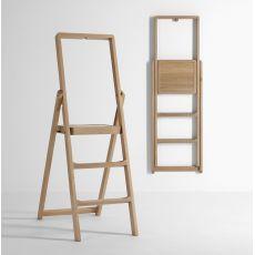 Step - Scala pieghevole in legno, diversi colori disponibili