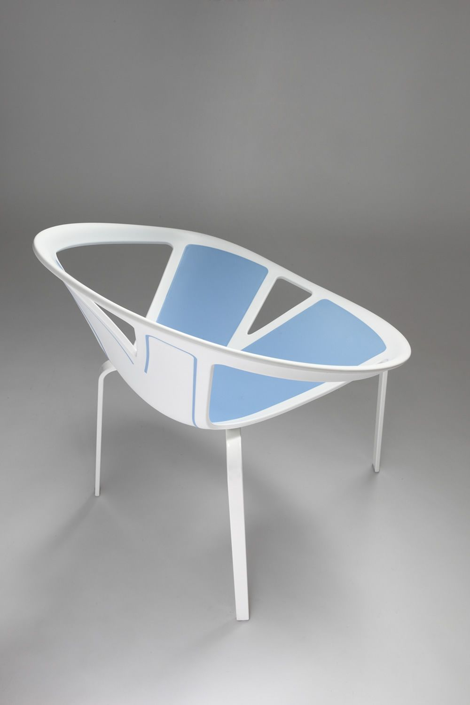 Extreme petit fauteuil design en m tal et en for Chaise 5013