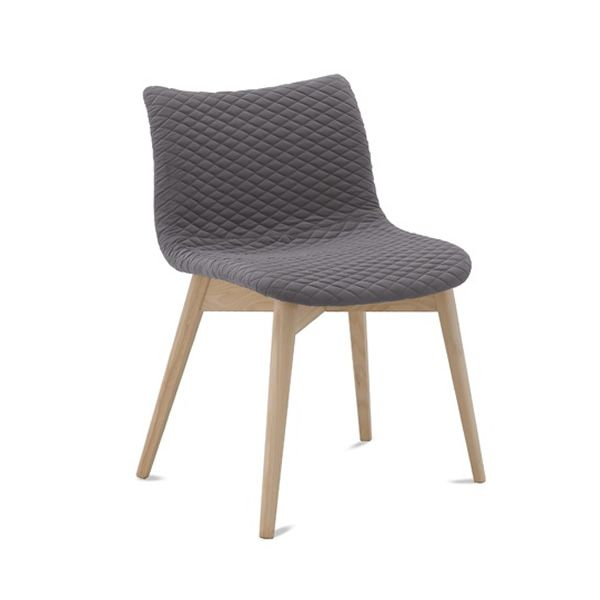 Fenice l sedia domitalia in legno seduta rivestita in for Sedie fenice design