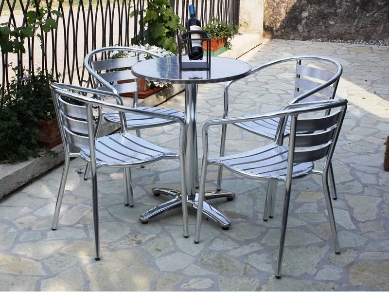 ... Gartenstuhle Kaufen Bauhaus Z Alu Gartenstuhl Aus Aluminium Stapelbar  Sediarreda ...