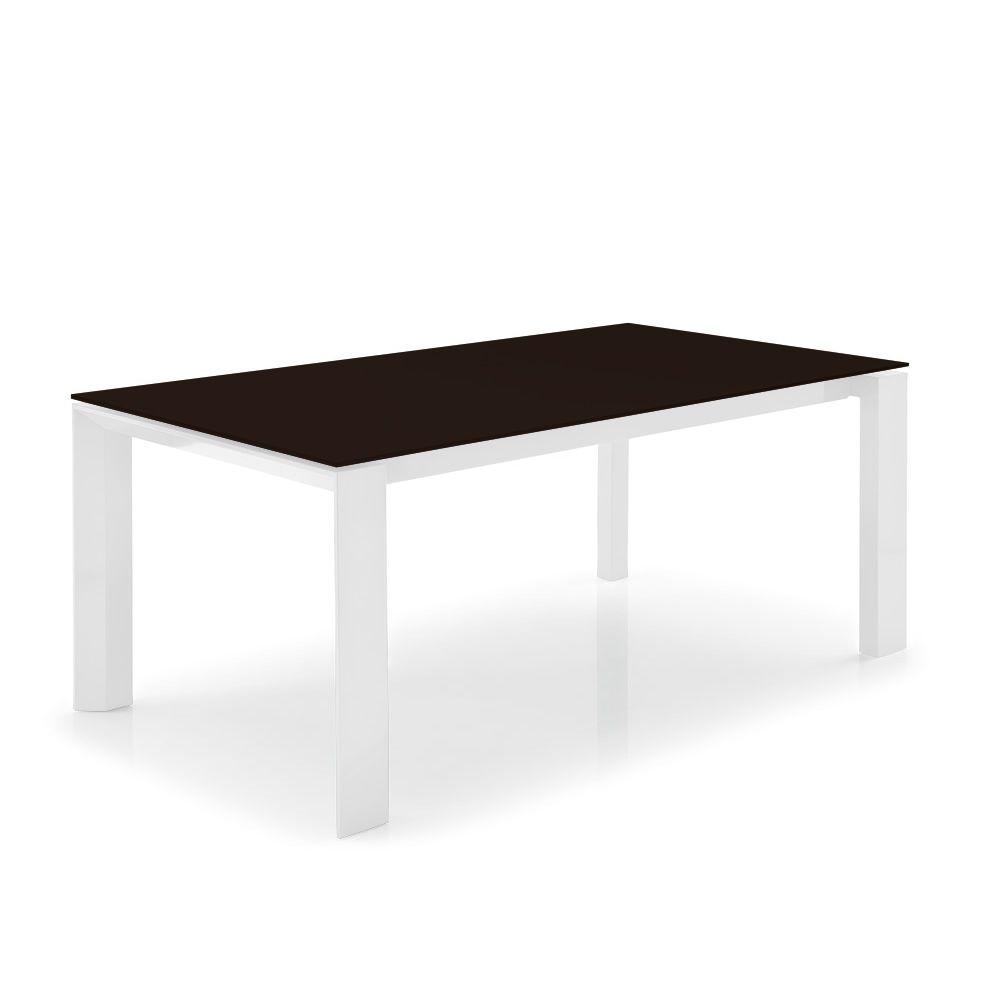 Cs4058 lv 160 omnia glass tavolo calligaris in legno for Calligaris performance