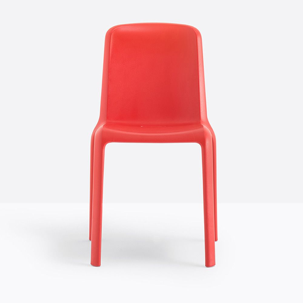 Snow 300: Stackable Pedrali chair in polypropylene, suitable for ...