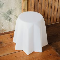 Pandoro - Slide polyethylene stool, different colours available, also for garden and with light system