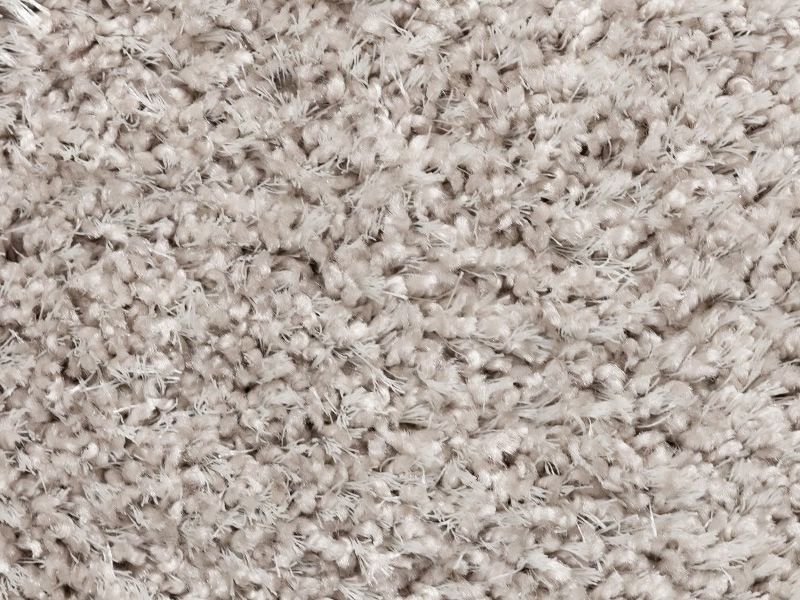 fly detail of the carpet in the soft silver colour - Tapis Color Fly
