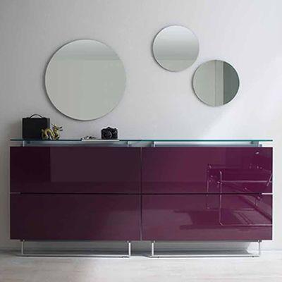 Specchio T Specchio Rotondo Disponibile In Diverse