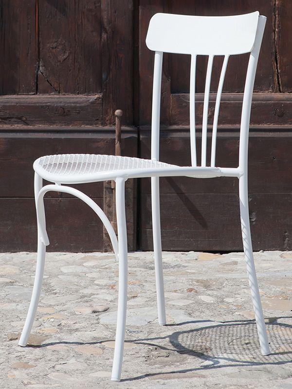 retr s pour bars et restaurants chaise en m tal empilable pour l 39 ext rieur de bars et. Black Bedroom Furniture Sets. Home Design Ideas