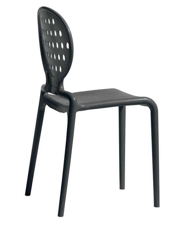 Colette 2283 pour bars et restaurants chaise de bar en - Chaise de jardin gris anthracite ...