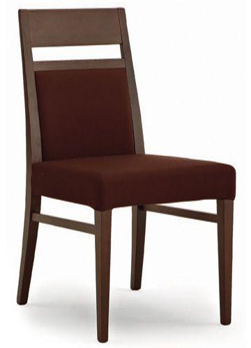 Dm331 f r bars und restaurants holzstuhl mit sitz und for Holzstuhl mit leder