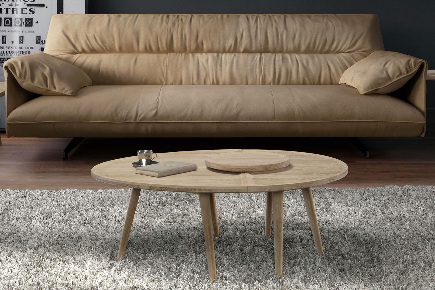 Colombo design wooden coffee table available in for Colombo design gallery