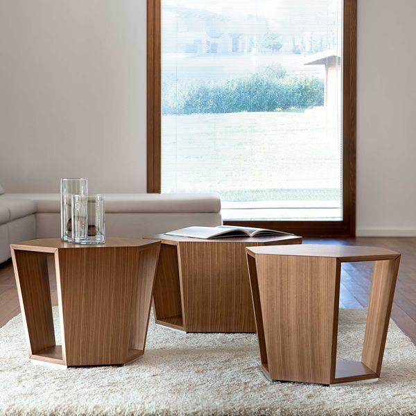 Diamonds tavolino da salotto tonon in legno diverse for Tavolini legno salotto