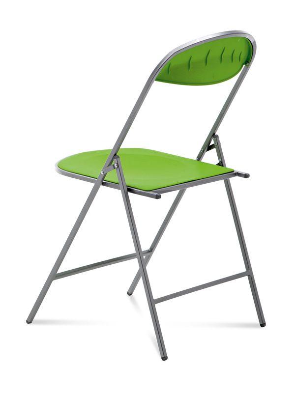 Sea chaise pliante domitalia en polypropyl ne et m tal diff rentes couleur - Chaise metal couleur ...