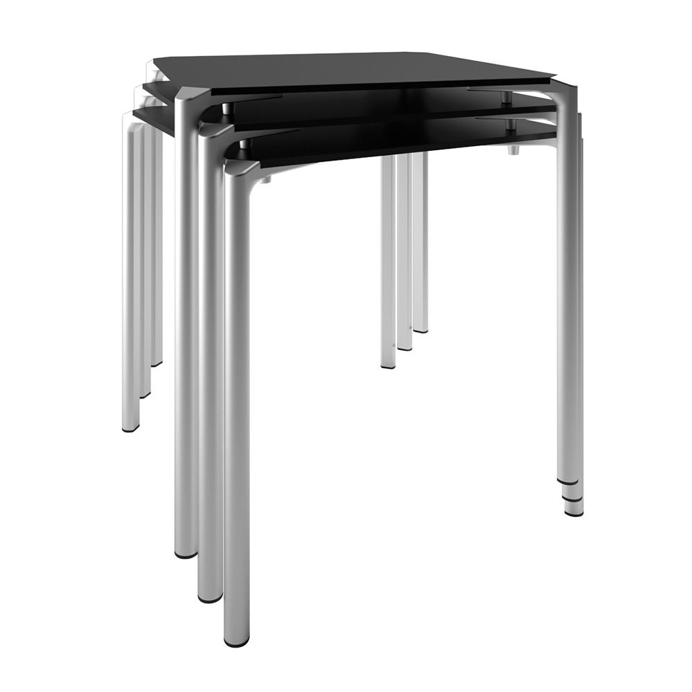 Tavoli Impilabili Per Esterno.Jump Tj4 Round Stackable Table For Bar Or Restaurant In