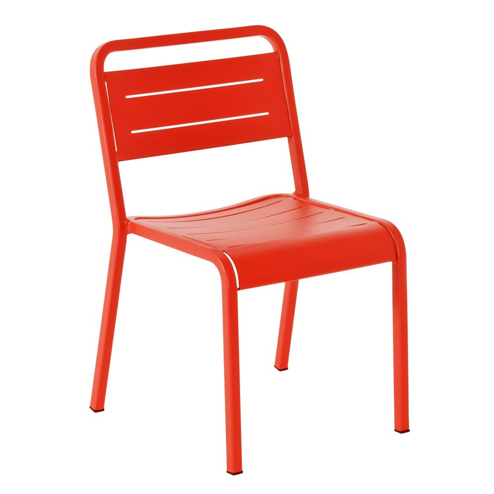 urban chaise emu en aluminium empilable pour jardin sediarreda. Black Bedroom Furniture Sets. Home Design Ideas